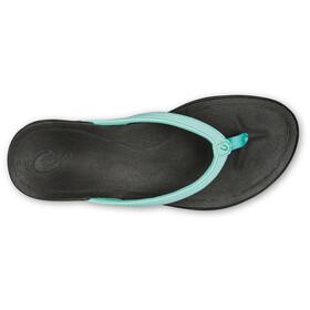 OluKai Ho'opio Sandals Dam lagoon/black